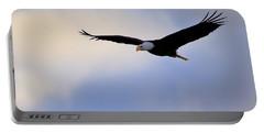 Soaring Bald Eagle Portable Battery Charger