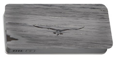 Portable Battery Charger featuring the photograph Soaring Gull by  Newwwman