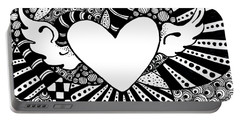 Soaring Heart  Portable Battery Charger
