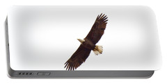 Portable Battery Charger featuring the photograph Soaring High 0885 by Michael Peychich