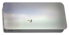 Portable Battery Charger featuring the photograph Soaring Tern. by Leif Sohlman