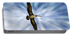 Soaring With Ease At Puerto Lopez Portable Battery Charger