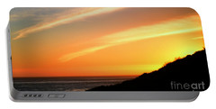 Portable Battery Charger featuring the photograph Socal Sunet by Clayton Bruster