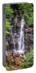 Portable Battery Charger featuring the photograph Socco Falls by Stephen Stookey