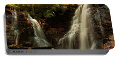 Portable Battery Charger featuring the photograph Soco Waterfalls From Spillway by Chris Flees