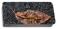 Sodden Leaf Portable Battery Charger