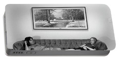 Sofa-sized Picture, With Light Switch, 1973 Portable Battery Charger