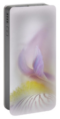 Portable Battery Charger featuring the photograph Soft And Delicate Iris by David and Carol Kelly