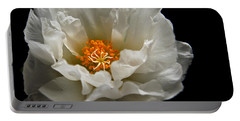 Portable Battery Charger featuring the photograph Soft And Pure by Judy Vincent