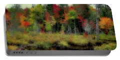 Portable Battery Charger featuring the photograph Soft Autumn Color by David Patterson