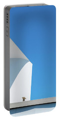 Soft Blue Portable Battery Charger
