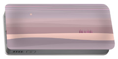 Soft Colored Landscape Portable Battery Charger