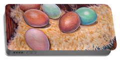 Soft Eggs Portable Battery Charger