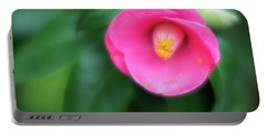 Soft Focus Flower 1 Portable Battery Charger