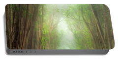 Soft Forest Light Portable Battery Charger