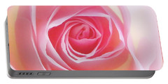 Soft Glowing Rose Portable Battery Charger