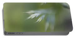 Portable Battery Charger featuring the photograph Soft Green by Michaela Preston