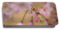 Soft Spring Blossoms Portable Battery Charger