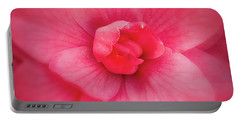 Soft Touch Camellia  Portable Battery Charger