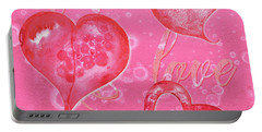 Soft Valentine Portable Battery Charger