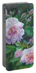 Summer Love Portable Battery Charger by Karen Kennedy Chatham