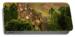 Portable Battery Charger featuring the photograph Soganli, Turkey - Highrise II by Mark Forte