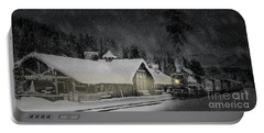Portable Battery Charger featuring the photograph Solace From The Storm by Brad Allen Fine Art