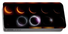 Solar Eclipse - August 21 2017 Portable Battery Charger