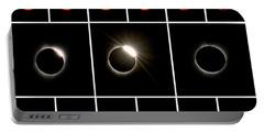 Solar Eclipse Composite Portable Battery Charger