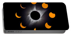 Solar Eclipse Stages Portable Battery Charger