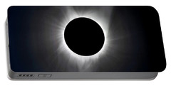 Solar Eclipse Totality Corona Portable Battery Charger