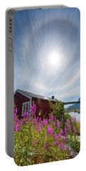 Solar Halo Above Rorbu Portable Battery Charger