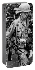 Soldier Carrying Boy Portable Battery Charger