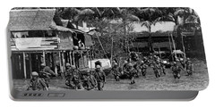 Soldiers In The Mekong Delta Portable Battery Charger