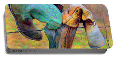 Sole Mates Portable Battery Charger by Joe Jake Pratt