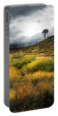 Portable Battery Charger featuring the photograph Solitary Pine by Frank Wilson