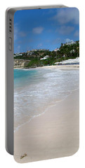 Solitude On Dawn Beach Portable Battery Charger