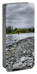 Solitude On The River Portable Battery Charger