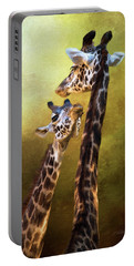 Portable Battery Charger featuring the photograph Someone To Look Up To - Wildlife Art by Jordan Blackstone