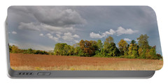 Portable Battery Charger featuring the photograph Somerset Sky 3069 by Guy Whiteley