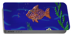 Something Fishy Portable Battery Charger by Kevin Caudill