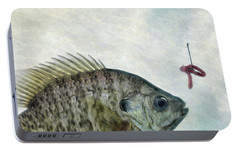Portable Battery Charger featuring the photograph Something Fishy by Mark Fuller