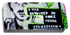 Portable Battery Charger featuring the photograph Something Significant by Art Block Collections
