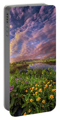 Sometimes We Are In Doubt But Never In Despair Portable Battery Charger