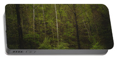 Portable Battery Charger featuring the photograph Somewhere In The Woods by Shane Holsclaw