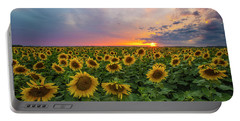 Somewhere Sunny  Portable Battery Charger by Aaron J Groen