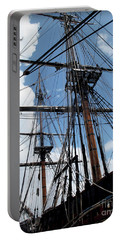 Son Of A Son Of A Sailor Quote - Tribute To The Bounty Portable Battery Charger by Joan  Minchak