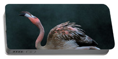 Song Of The Flamingo Portable Battery Charger