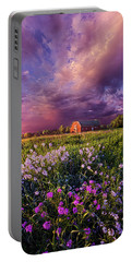 Songs Of Days Gone By Portable Battery Charger by Phil Koch
