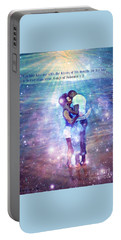 Songs Of Solomon Portable Battery Charger by Vannetta Ferguson